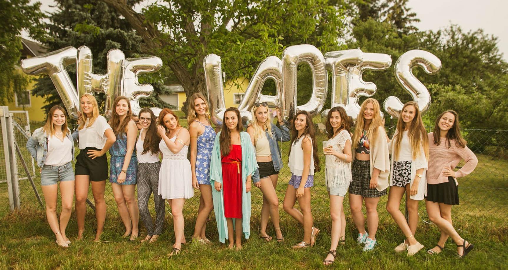 the ladies. Picknick | Unsere Gartenparty!