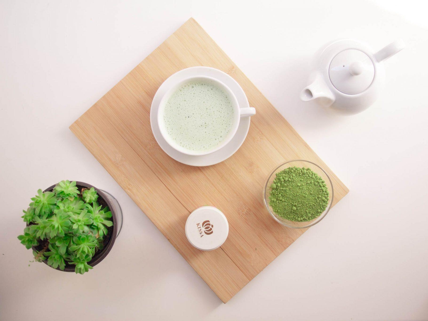 Tutorial + Giveaway KISSA Matcha Tea
