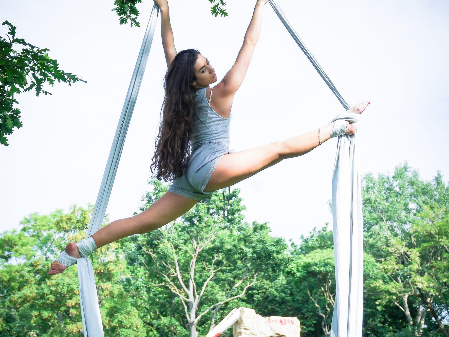 Sport Update: Aerial Silk Dance