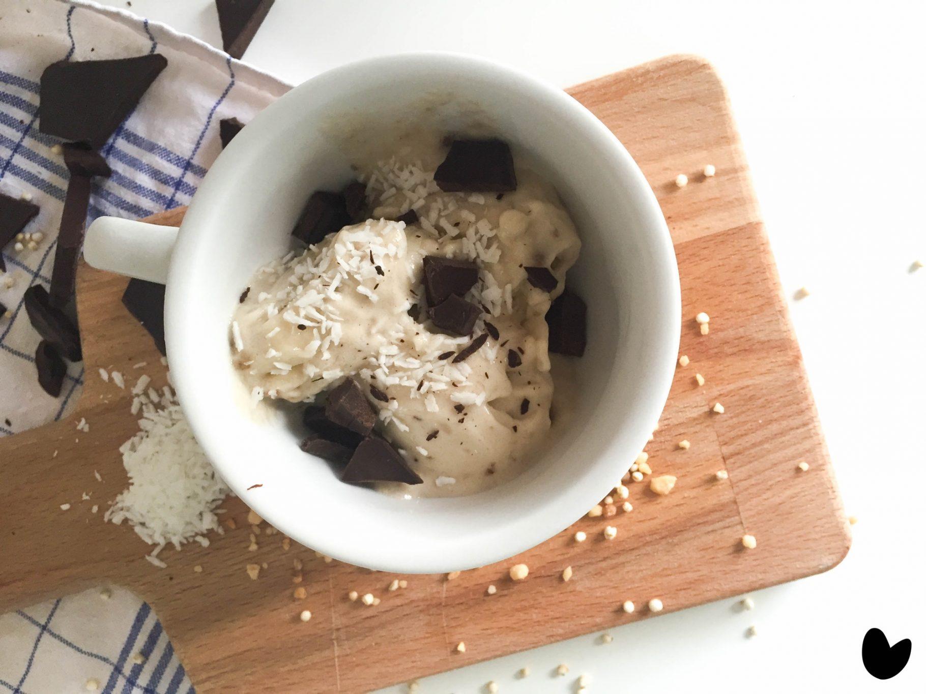 Nana-Eis–<br>Selbstgemachtes Eis mit nur einer Zutat