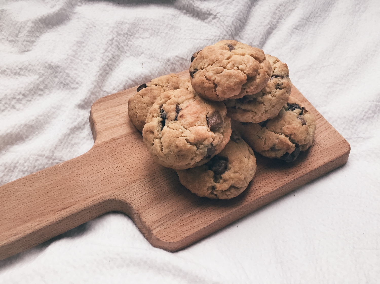 Himmlisch-sündig |<br> Vegan Chocolate Chip-Cookies