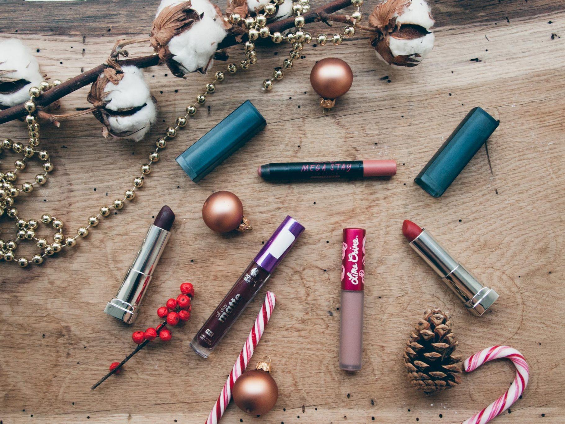 My Favourite Matte Lipsticks <br>Matte Lippenstifte für den Winter 💄
