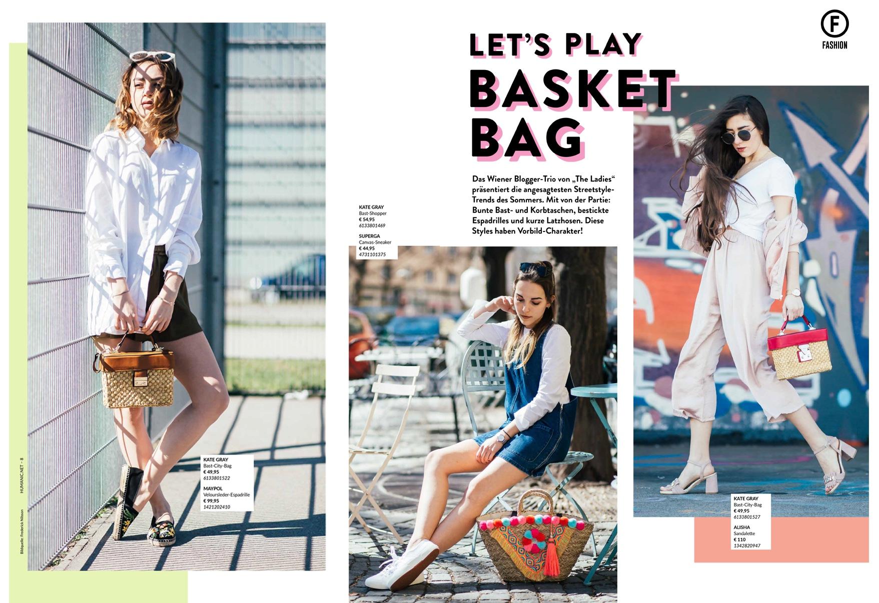 Let's play Basket Bag | Alles rund um Korbtaschen