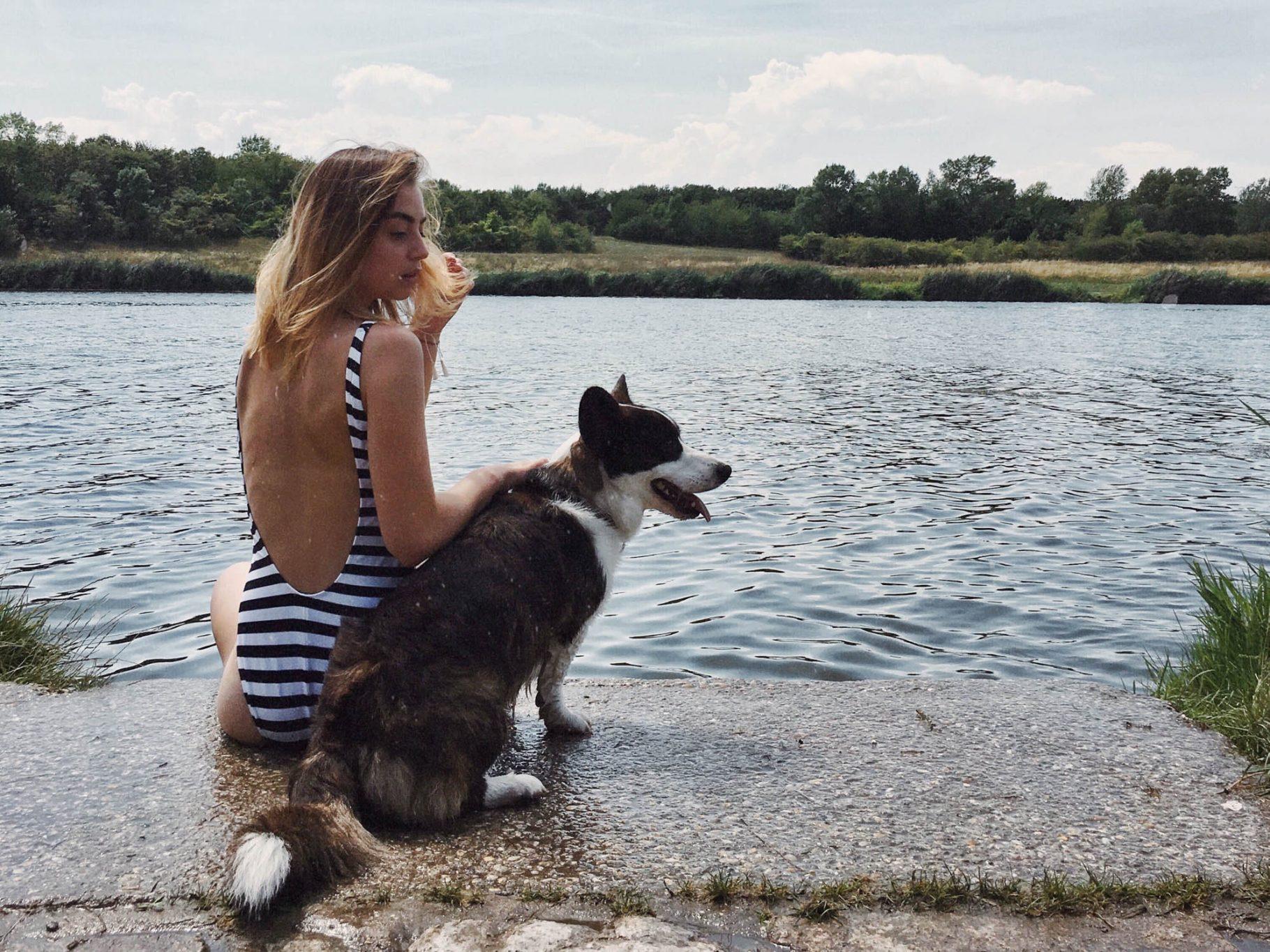 Mit Hund baden in Wien: Hundestrände |Meine Favoriten