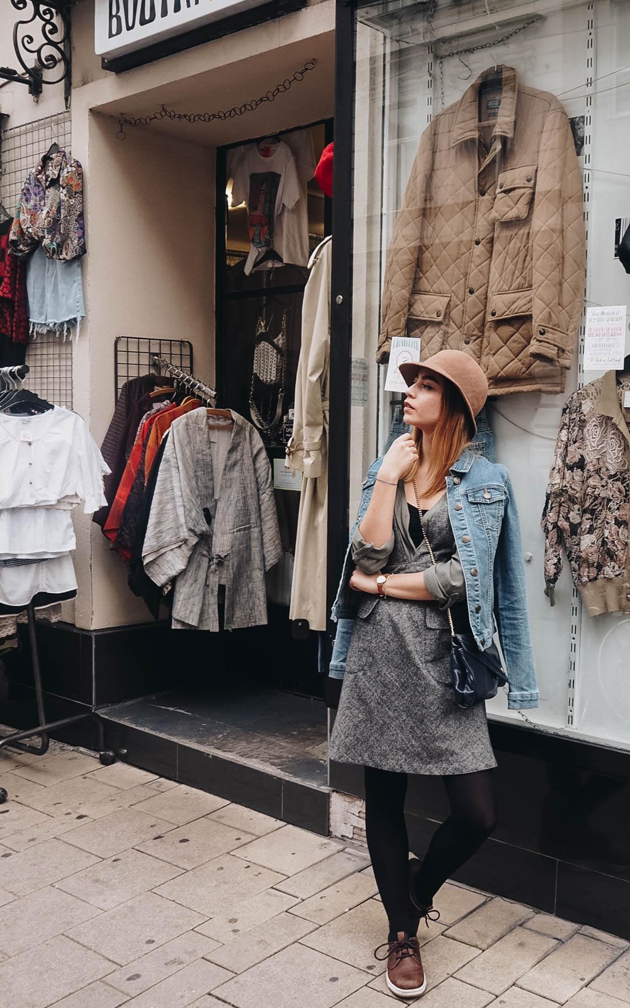 Nachhaltig Shoppen <br> Vintage Einkaufen in Wien