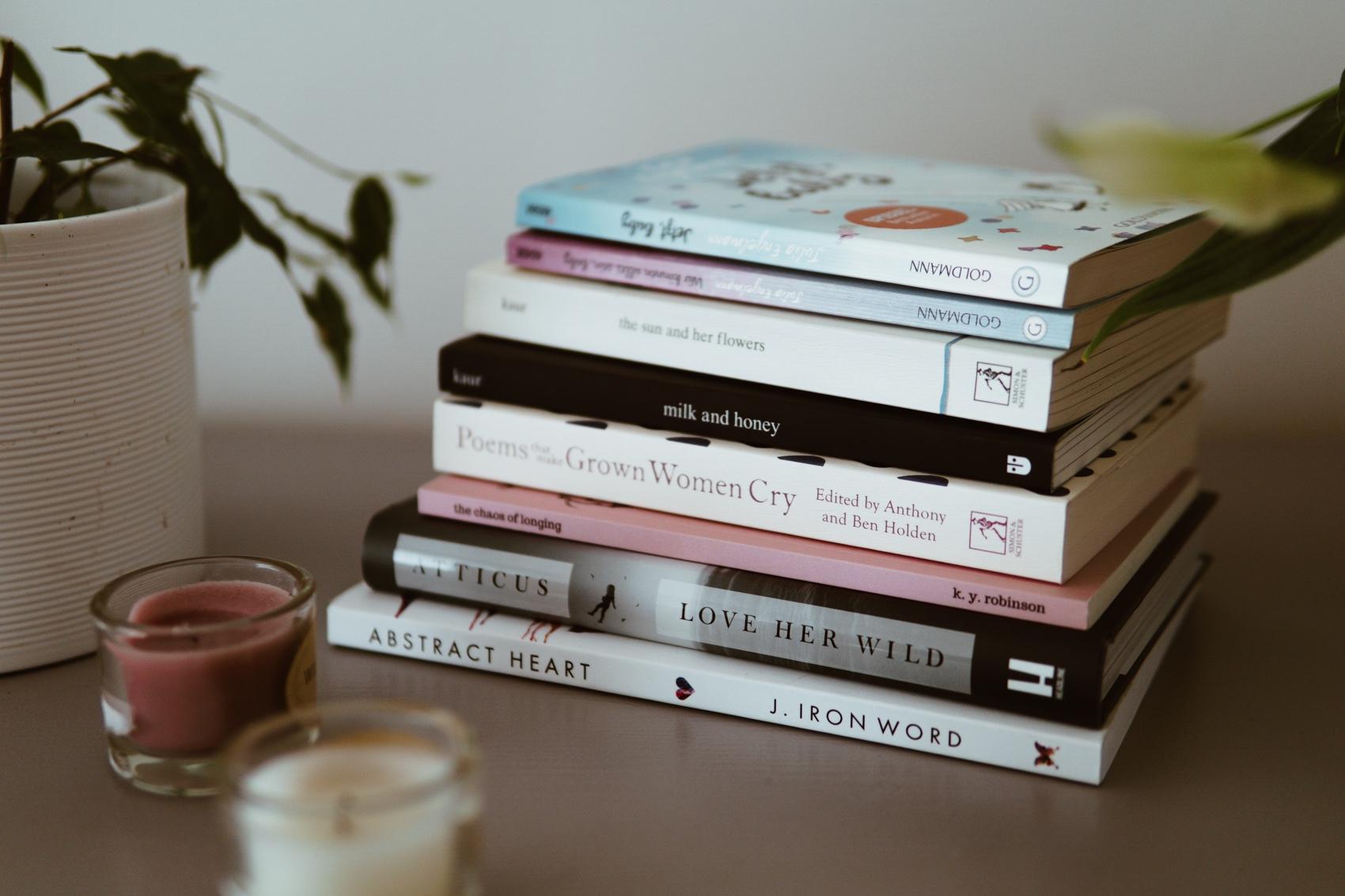 Über die Liebe zur Poesie und meine liebsten Gedichtbände