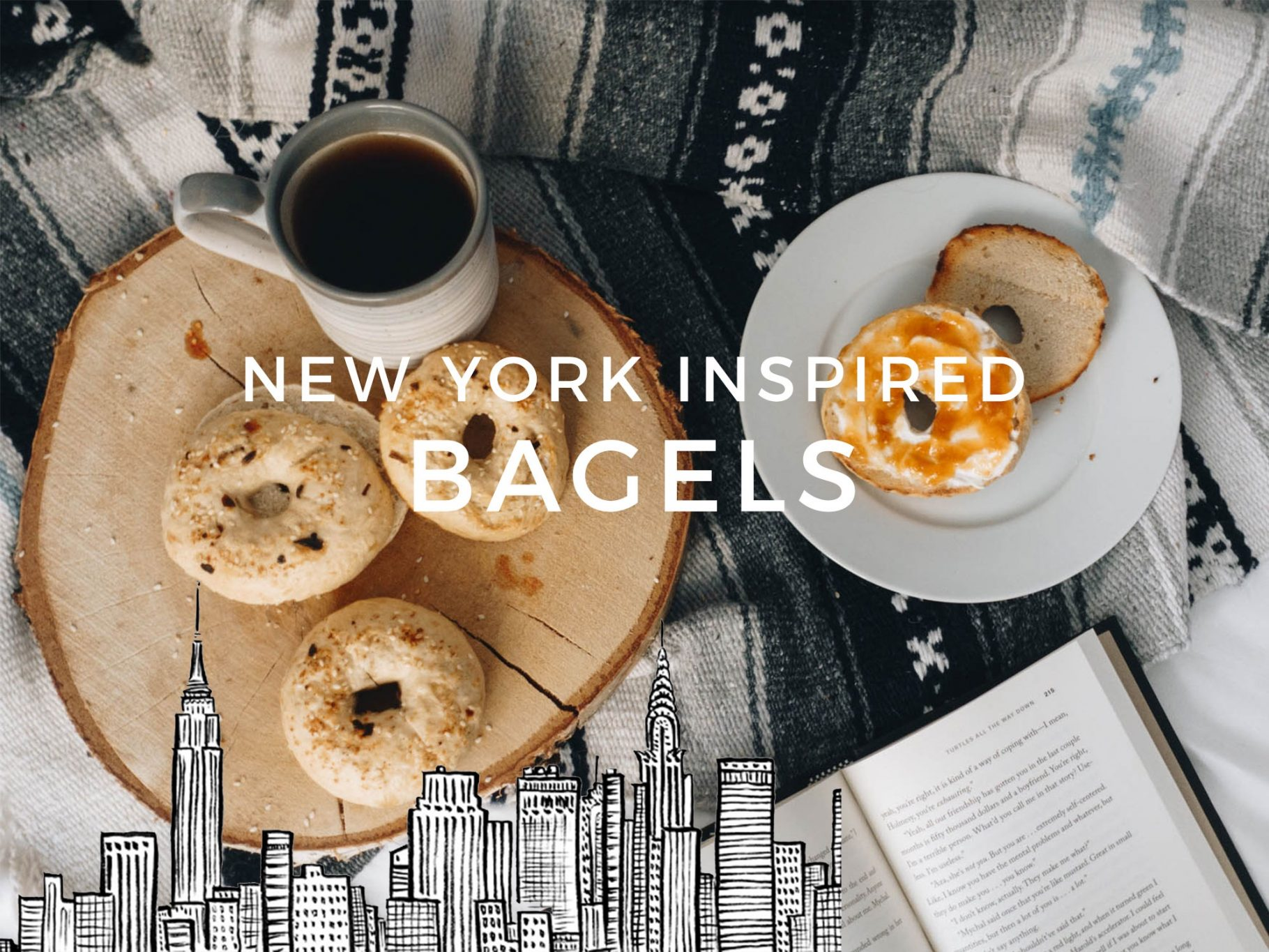 New York Style 'Everything' Bagels | Rezept