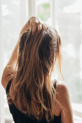 NoPoo Haare waschen mit Roggenmehr.