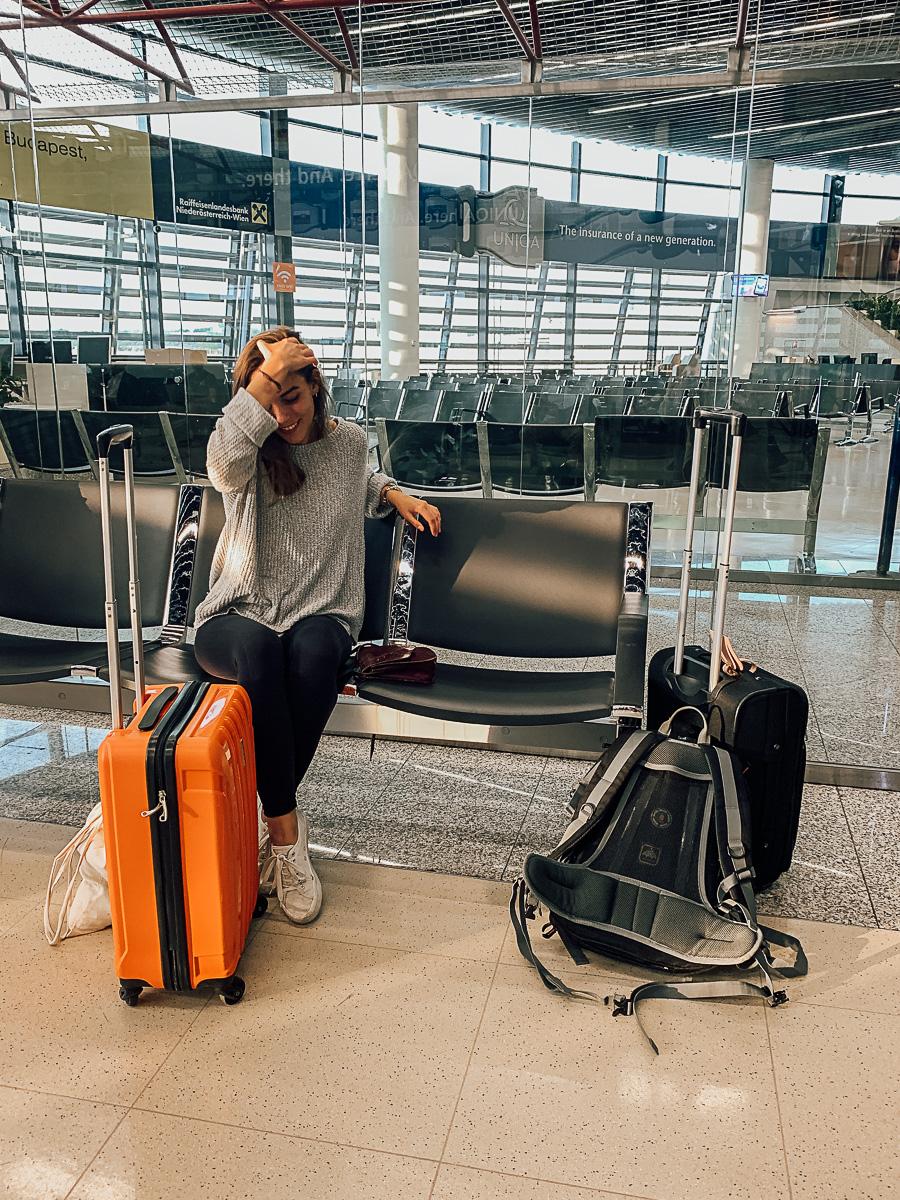 Vorbereitungen für lange Reisen
